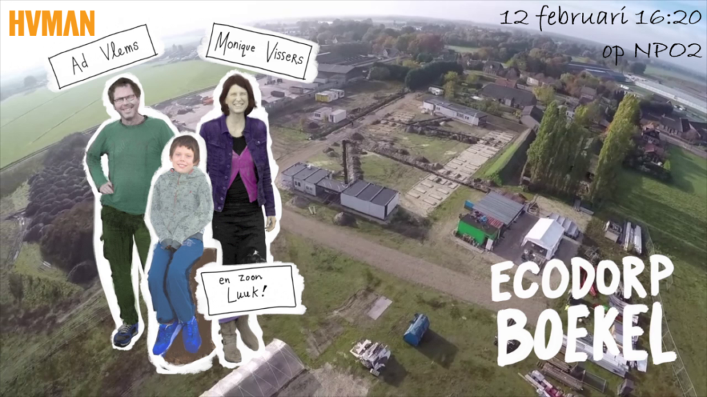 Documentaire over wooncoöperatie Ecodorp Boekel