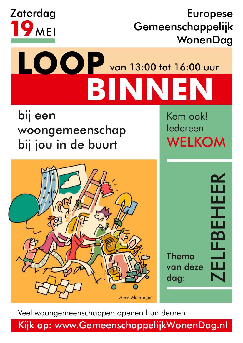 affiche GemeenschappelijkWonenDag 2018